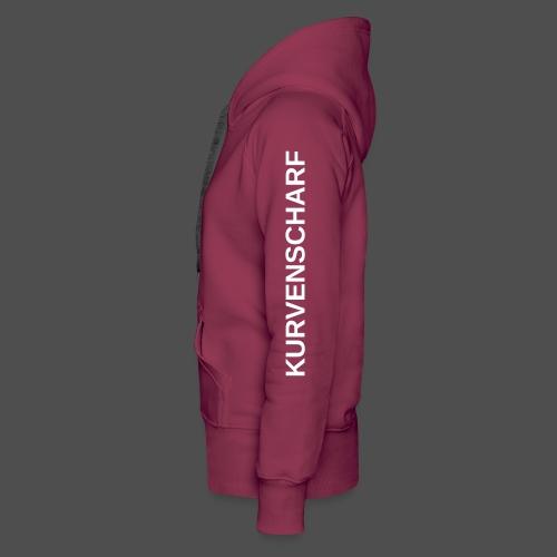 KURVENSCHARF 0TE04 - Women's Premium Hoodie
