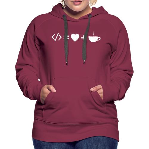 Developer Equation - Women's Premium Hoodie