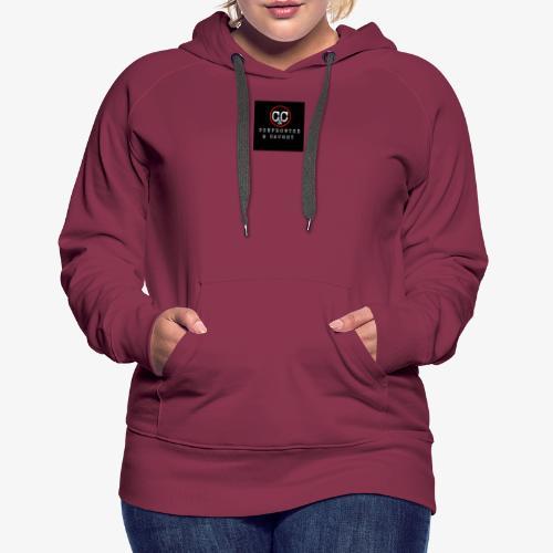 Simple Logo - Women's Premium Hoodie