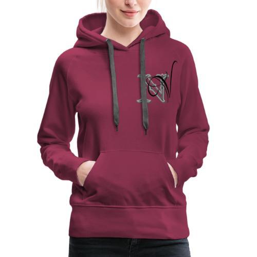 nV Collections - Felpa con cappuccio premium da donna