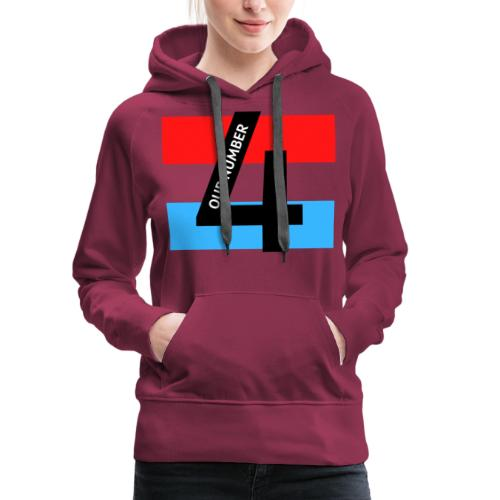 Our Number 4 Collection from The Trippers - Women's Premium Hoodie