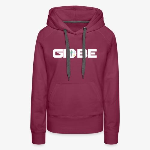 Official Merchandise Of GIOBE - Felpa con cappuccio premium da donna