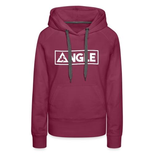 Angle Brand - Felpa con cappuccio premium da donna