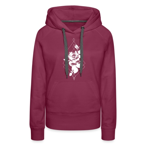 tattoorosewhite - Vrouwen Premium hoodie