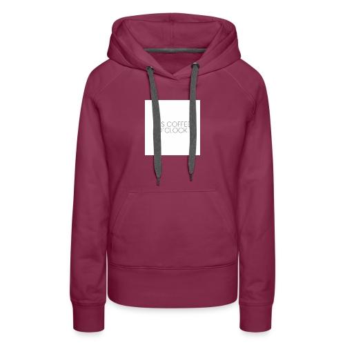 zwarte mok met tekst - Vrouwen Premium hoodie