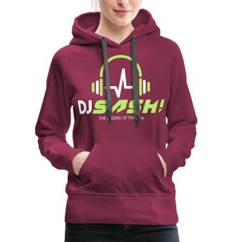 DJ SASH! - Headfone Beep - Women's Premium Hoodie