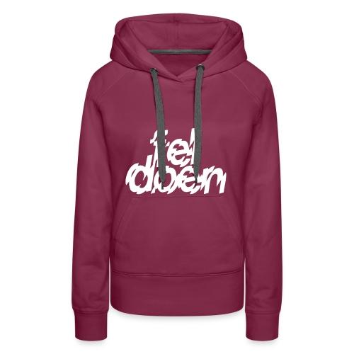 fel doen - Vrouwen Premium hoodie
