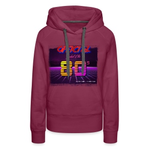 Official product of the 80's clothing - Women's Premium Hoodie