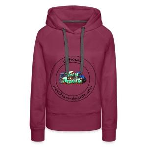 Officiel TD Logo - Sweat-shirt à capuche Premium pour femmes
