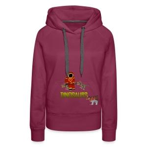 Minecraft Dinosaurs T-shirt - Vrouwen Premium hoodie