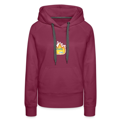 Gabby710 Flame Merch - Women's Premium Hoodie