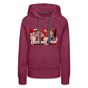 EnzoKnol Tour - Vrouwen Premium hoodie
