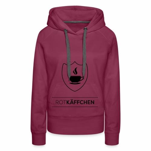 ROTKÄFFCHEN-Logo - Frauen Premium Hoodie