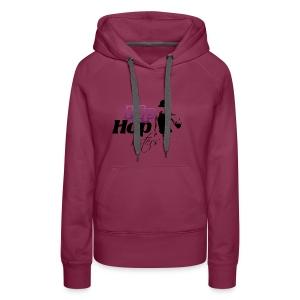 HIP HOP DISTERS - Sudadera con capucha premium para mujer