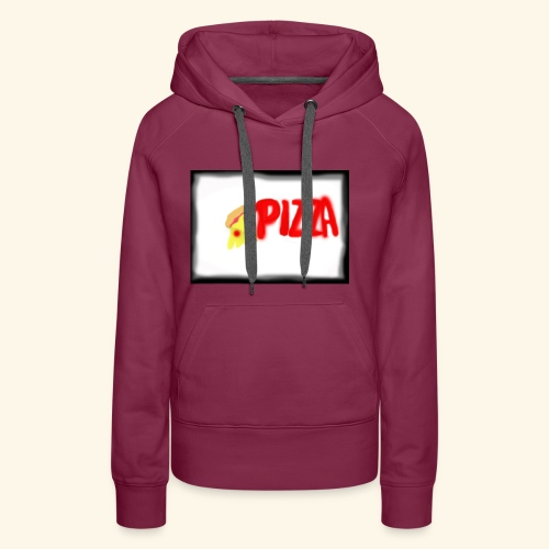 Pizza - Frauen Premium Hoodie