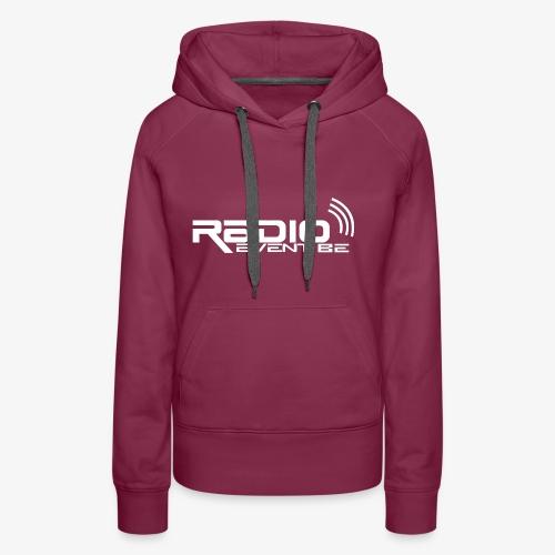Radio EVENTBE blank - Sweat-shirt à capuche Premium pour femmes