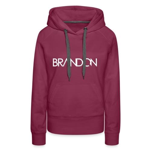 DJ BRANDON - Frauen Premium Hoodie