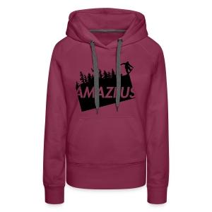 AmaZeus Board - Frauen Premium Hoodie