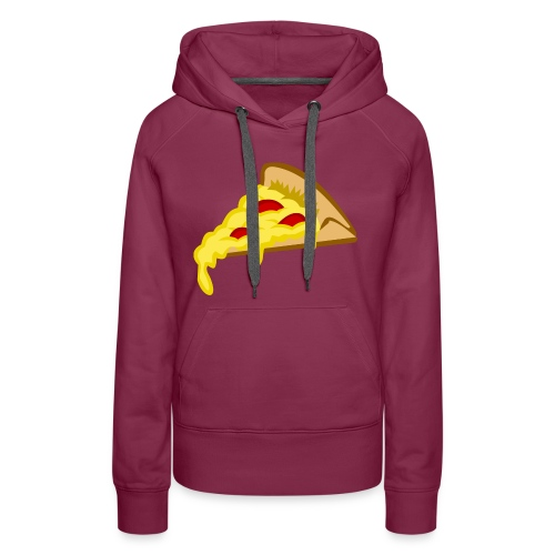 IF IT FITS MY SHIRT PIZZA? - Vrouwen Premium hoodie
