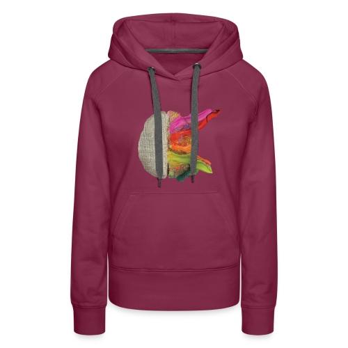 Brain and colours - Sudadera con capucha premium para mujer