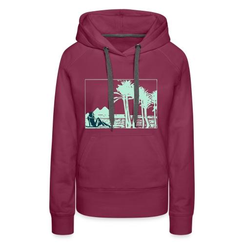 Girl nil - Sweat-shirt à capuche Premium pour femmes