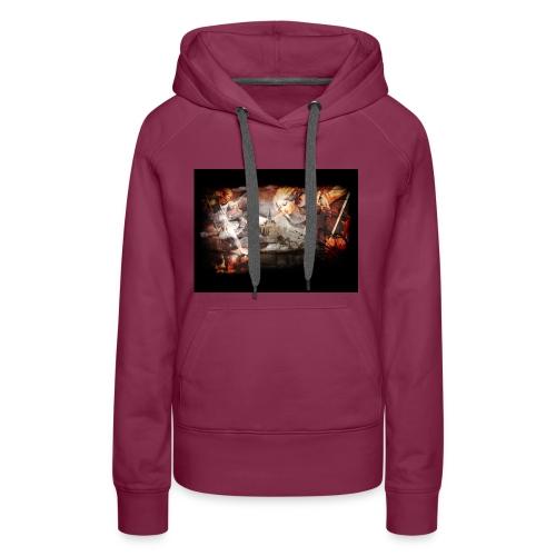 Archange Saint-Michel - Sweat-shirt à capuche Premium pour femmes
