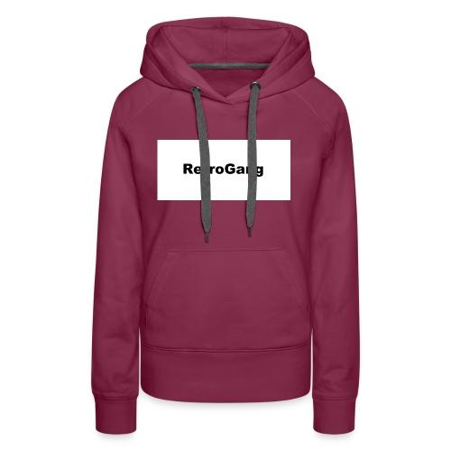 T-shirt retro gang - Vrouwen Premium hoodie