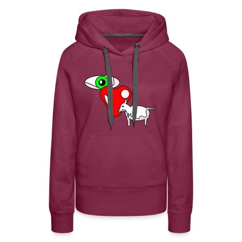 Eye luv Ewe - Women's Premium Hoodie