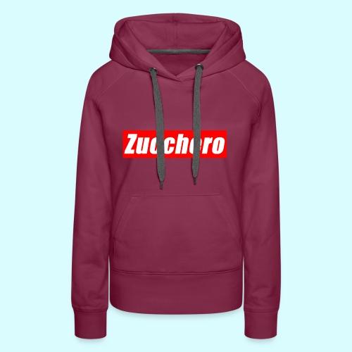 Zucchero Box Red - Women's Premium Hoodie
