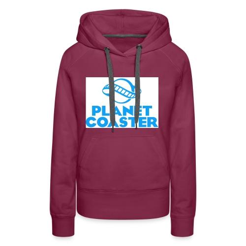 game planet coaster - Vrouwen Premium hoodie
