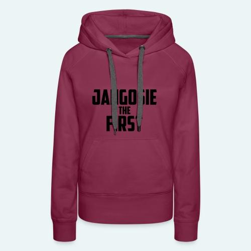 jangosiethefirst pet - Vrouwen Premium hoodie