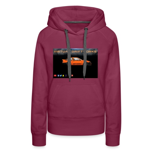 virtual driftworks preview - Women's Premium Hoodie