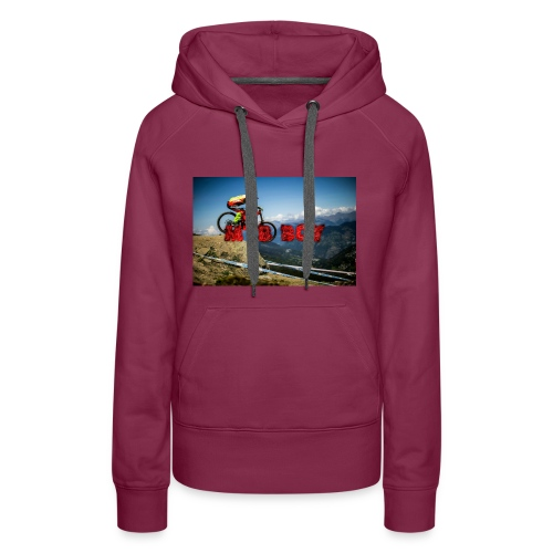 mtb boy clothes - Women's Premium Hoodie