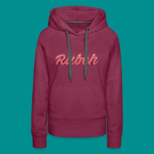 Rubeh Snapback - Vrouwen Premium hoodie
