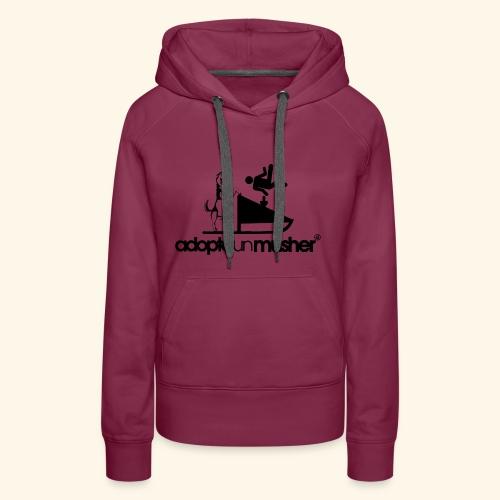 adopte un musher - Sweat-shirt à capuche Premium pour femmes