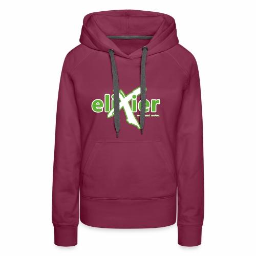 eliXier Logo - Frauen Premium Hoodie