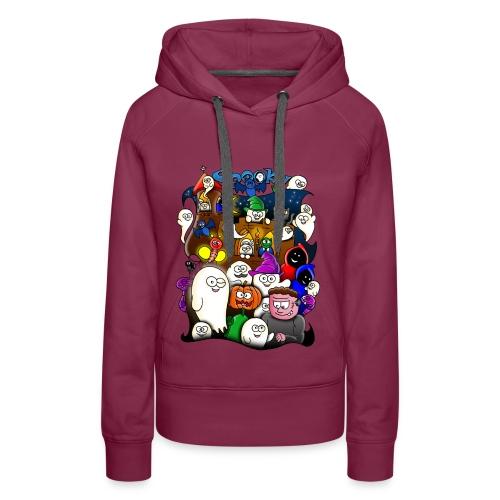 Spooky - Vrouwen Premium hoodie