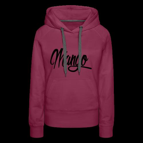 Mango Black Design Women - Vrouwen Premium hoodie
