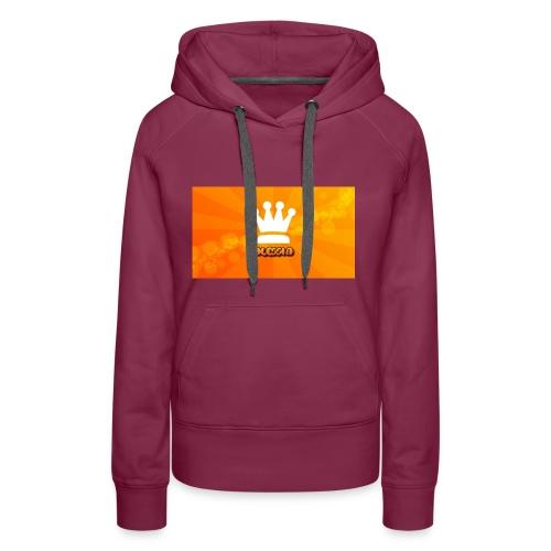 Orange_Crown_HD_Wallpaper_by_Ringquelle - Vrouwen Premium hoodie