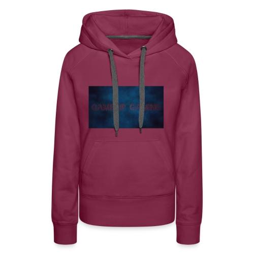 gamekip gaming sweater grijs - Vrouwen Premium hoodie