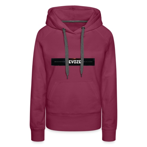 Merchandise met banner - Vrouwen Premium hoodie