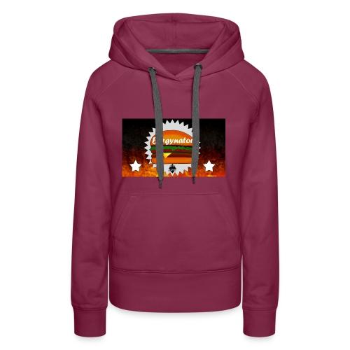 BURGYNATOR - Frauen Premium Hoodie