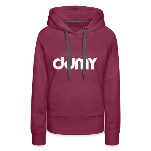 DUMY Classic - Sweat-shirt à capuche Premium pour femmes