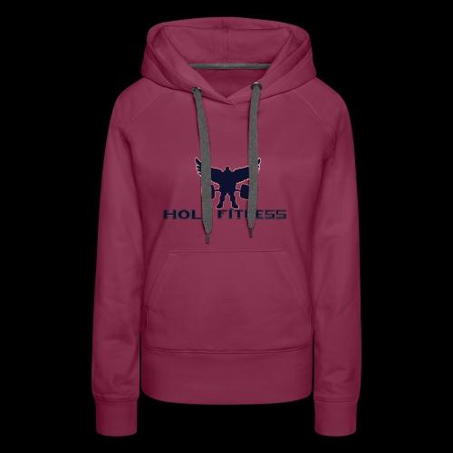 Logo 1 Holy fitness nouvelle génération - Sweat-shirt à capuche Premium pour femmes