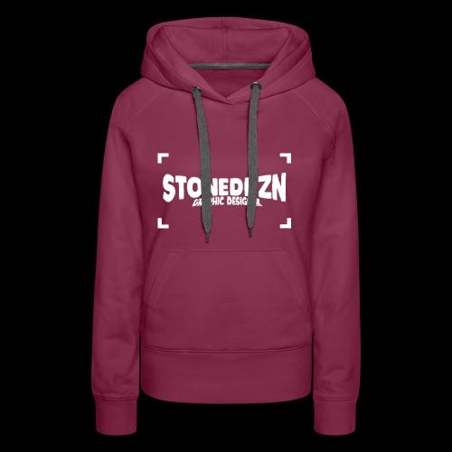 Da ist das YouTube Logo von StonedDzn - Frauen Premium Hoodie