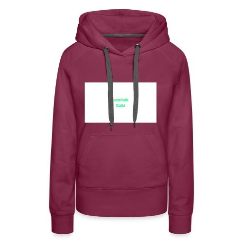 LetsTalk ColU - Women's Premium Hoodie