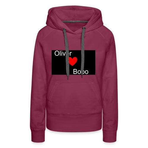 Oliver love Bobo - Premiumluvtröja dam