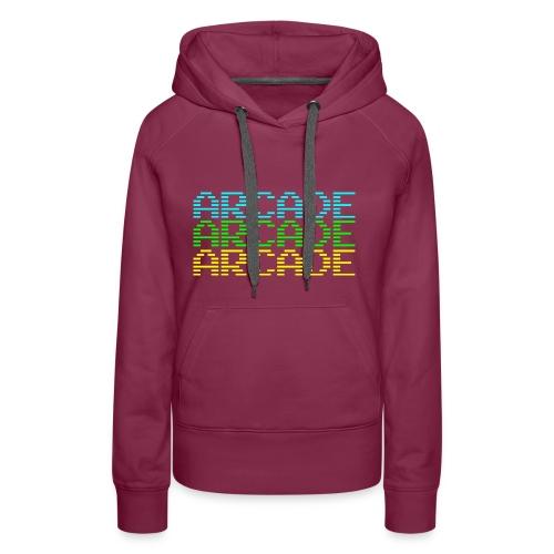 arcade3 - Frauen Premium Hoodie