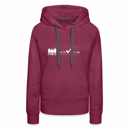 TDV - Vrouwen Premium hoodie