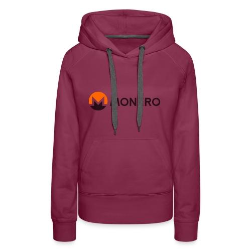 Monero logo - Frauen Premium Hoodie